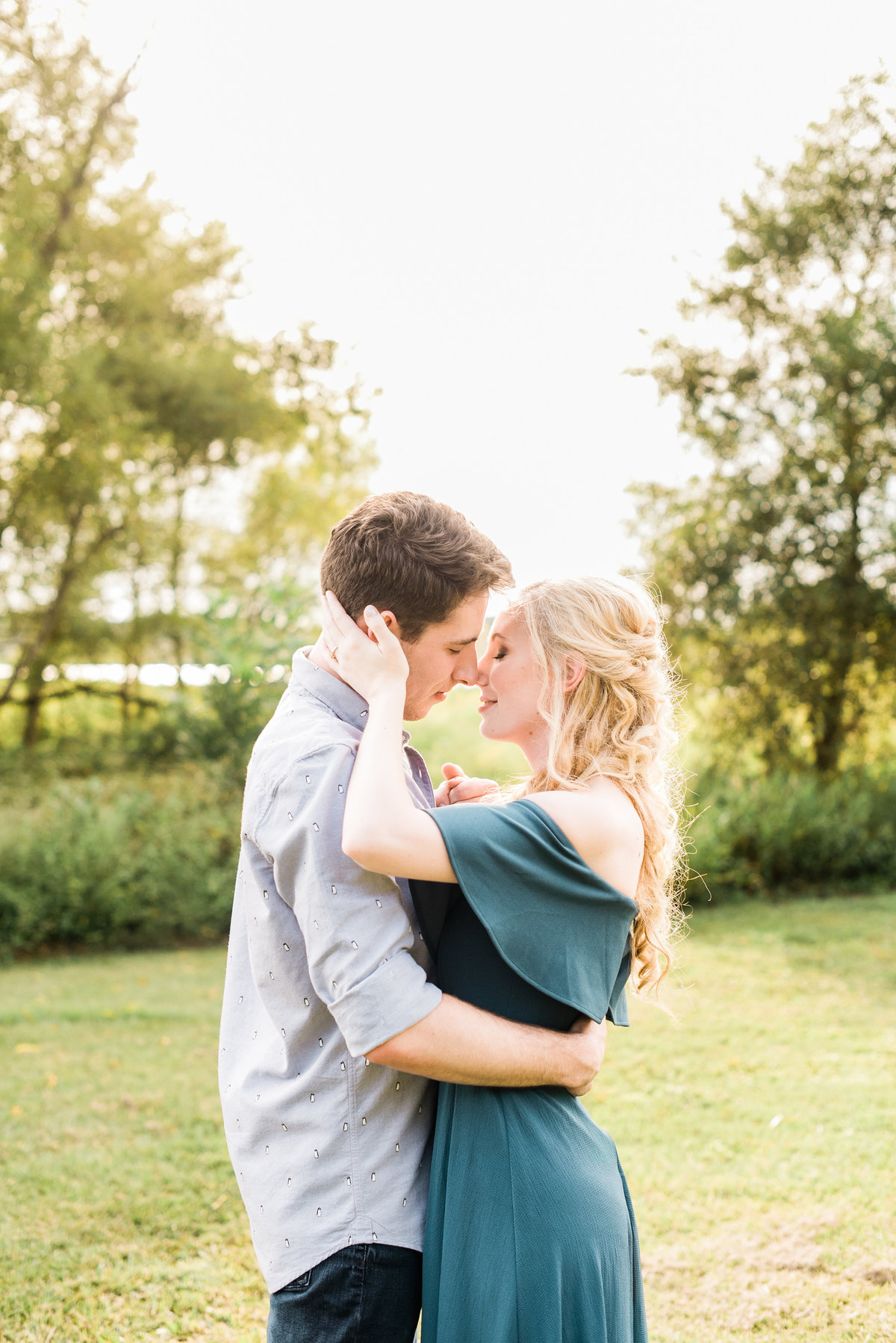 raleigh engagement session photo