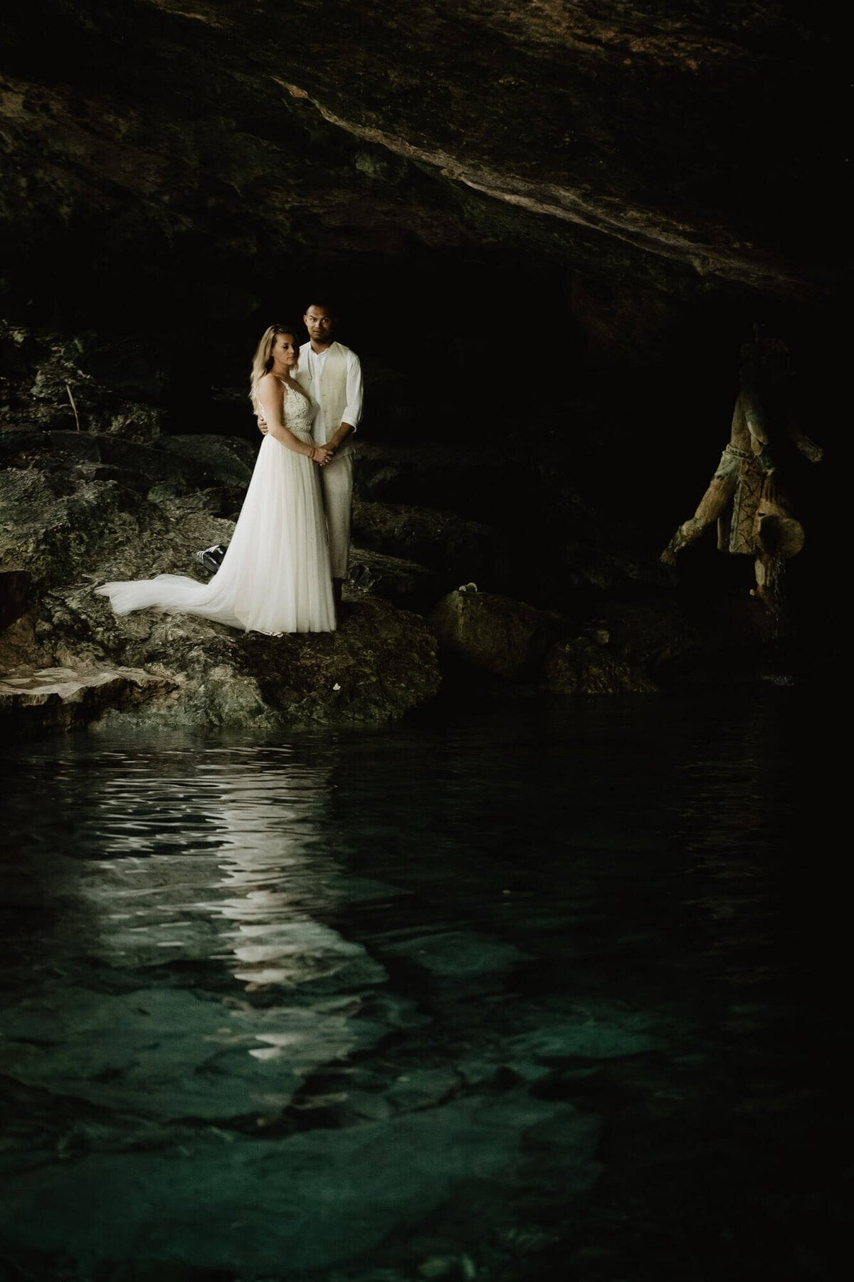 mexico fineart destinationwedding in playa del carmen photography by selene adores-054