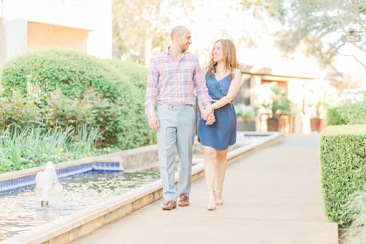 Villagio Inn Napa Engagement Session Yountville