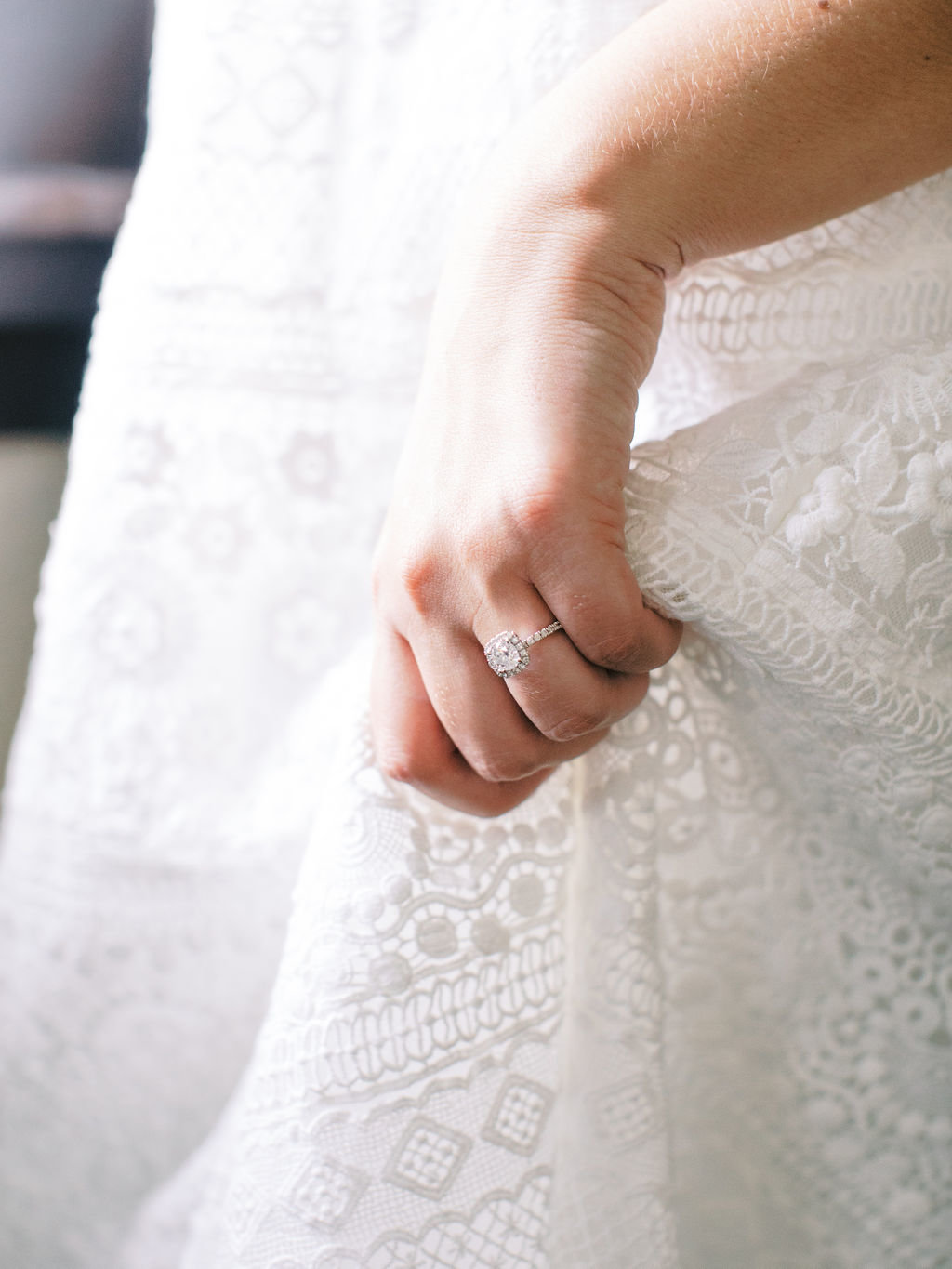 bride greenville country club wedding ring