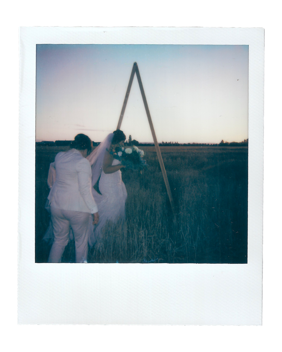 Becca + Katie | The Saltbox Barn - Fir Island, WA | Polaroids00005