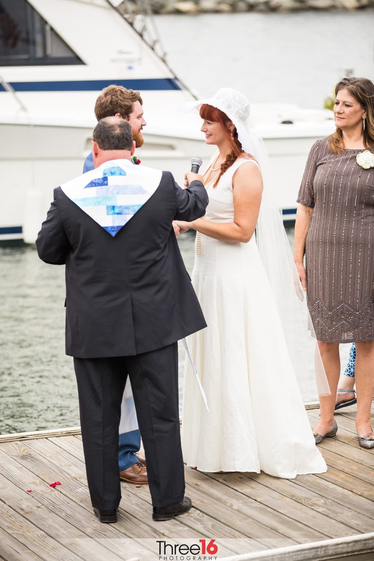 Dana Point Yacht Club Wedding ceremony