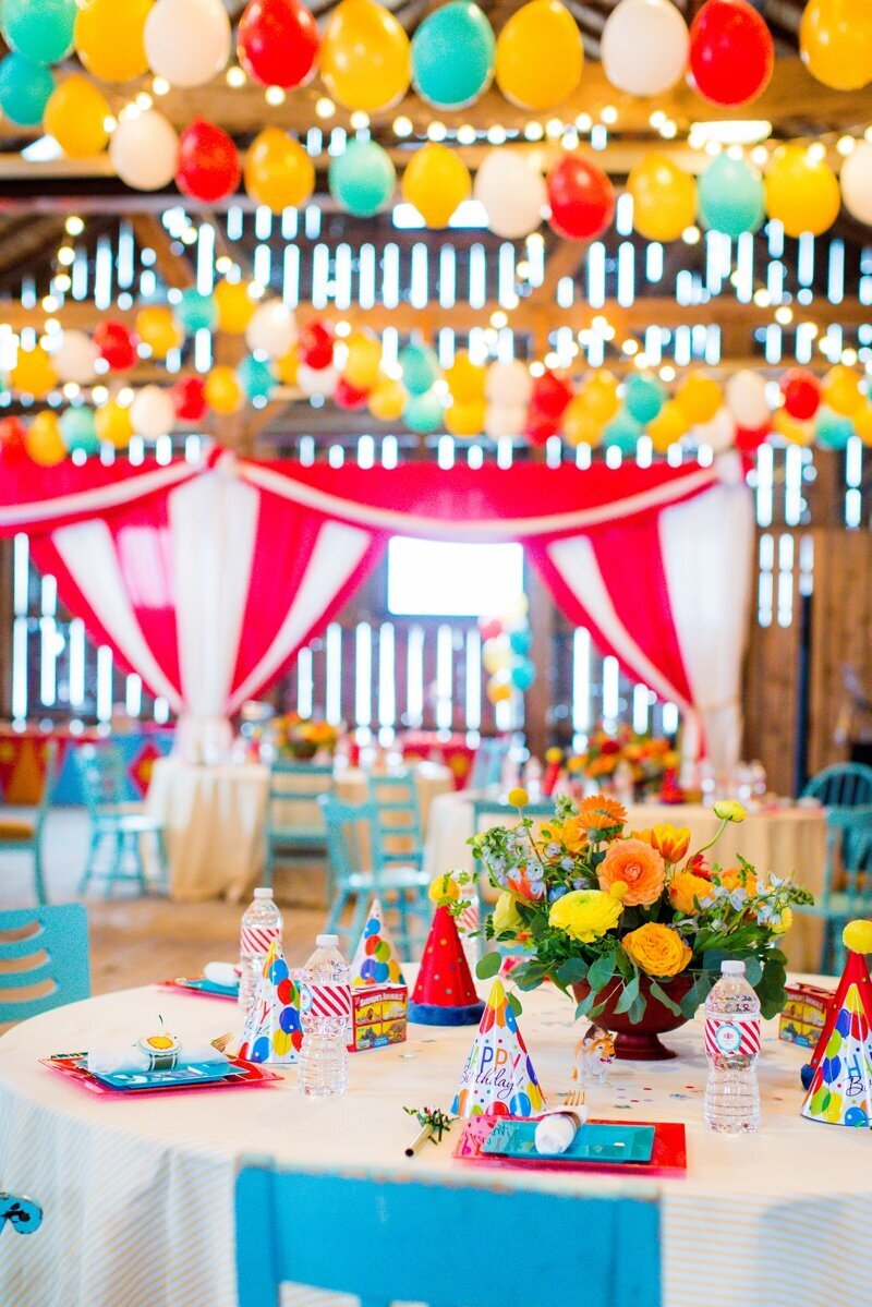 Circus Themed 1st Birthday Indianapolis Party Planner_0061