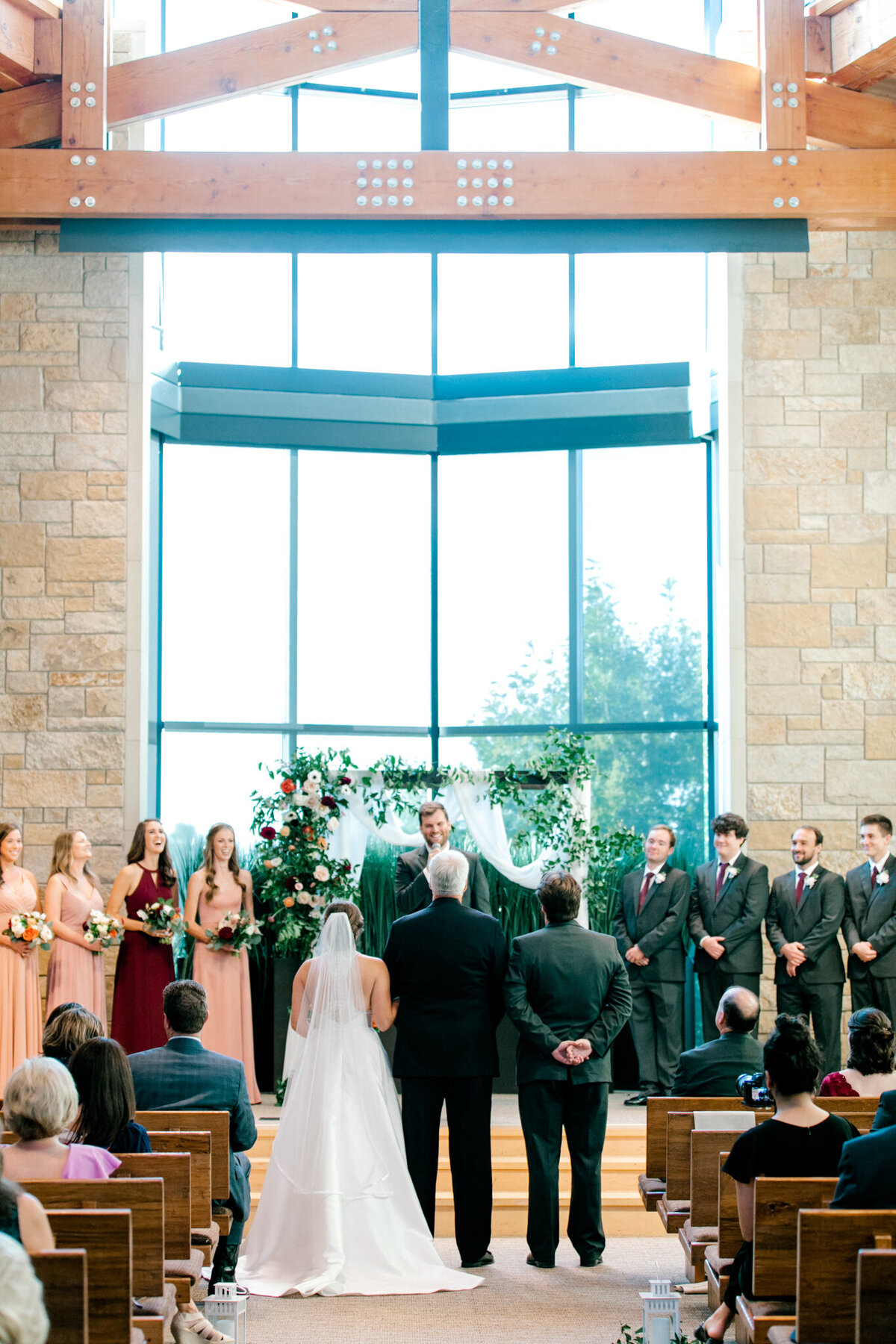 Kaylee & Michael's Wedding at Watermark Community Church | Dallas Wedding Photographer | Sami Kathryn Photography-106