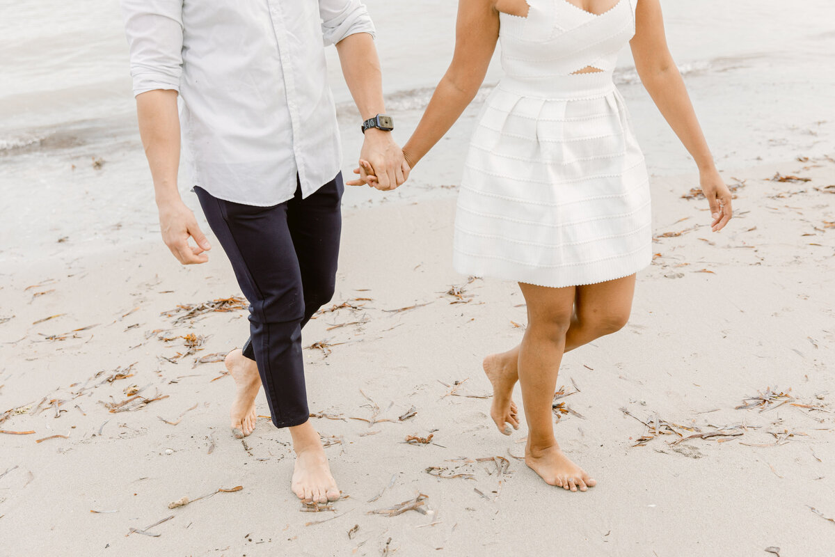 Crandon Beach Engagement Photography Session 24
