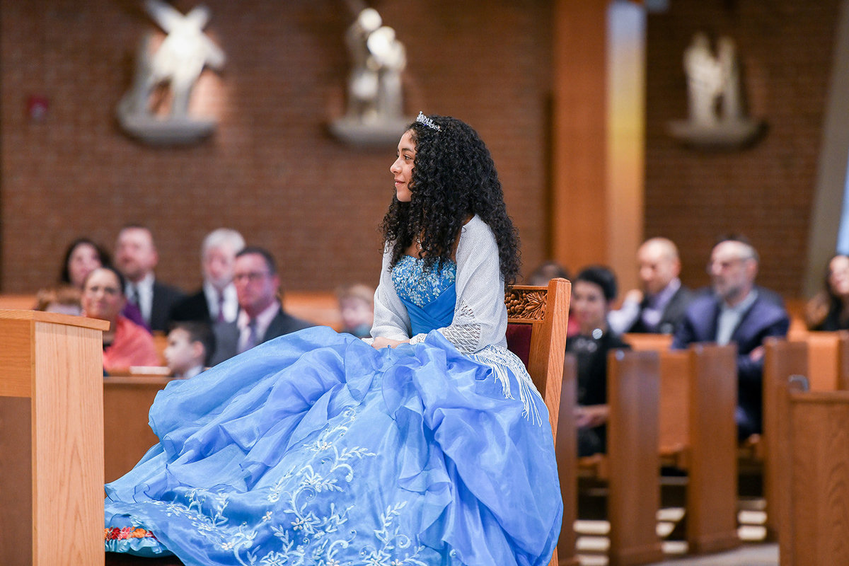 Quinceañera church service