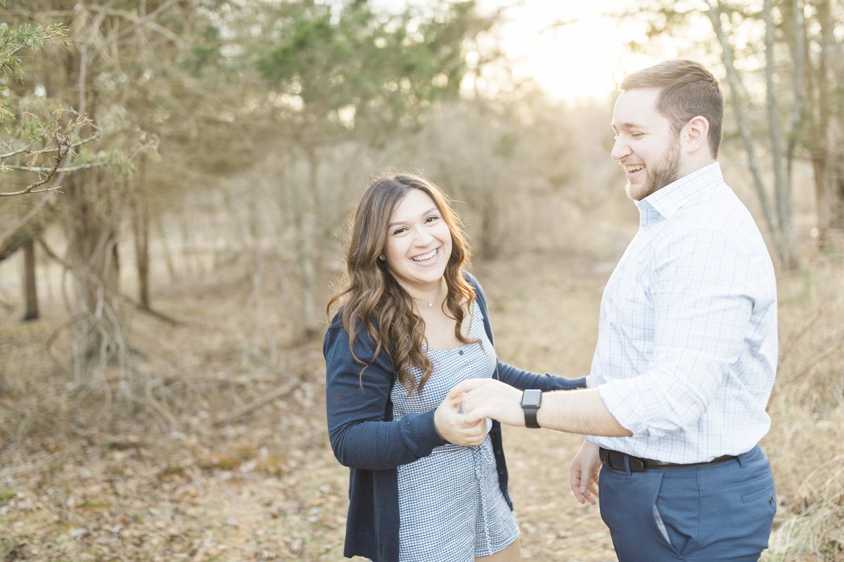 Allaire State Park Engagement Photographer
