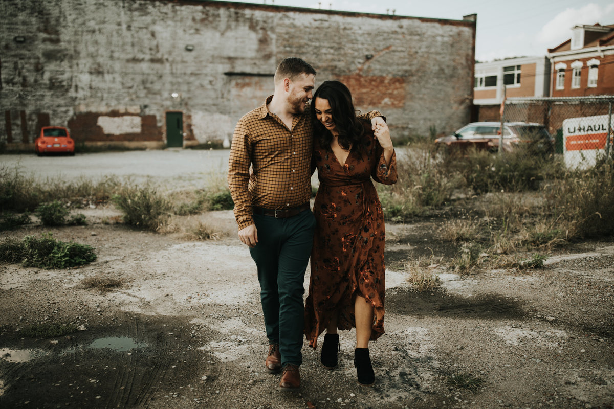 Urban engagement photos by Oakwood Photo + Video