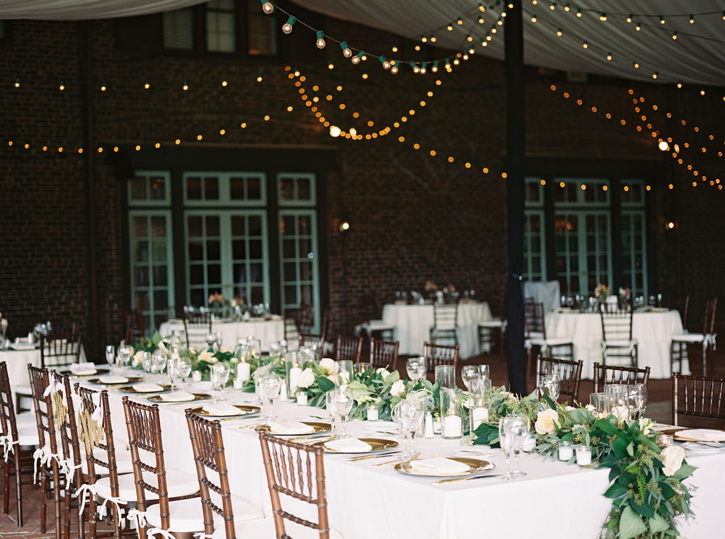 headtable greenville country club wedding florist delaware