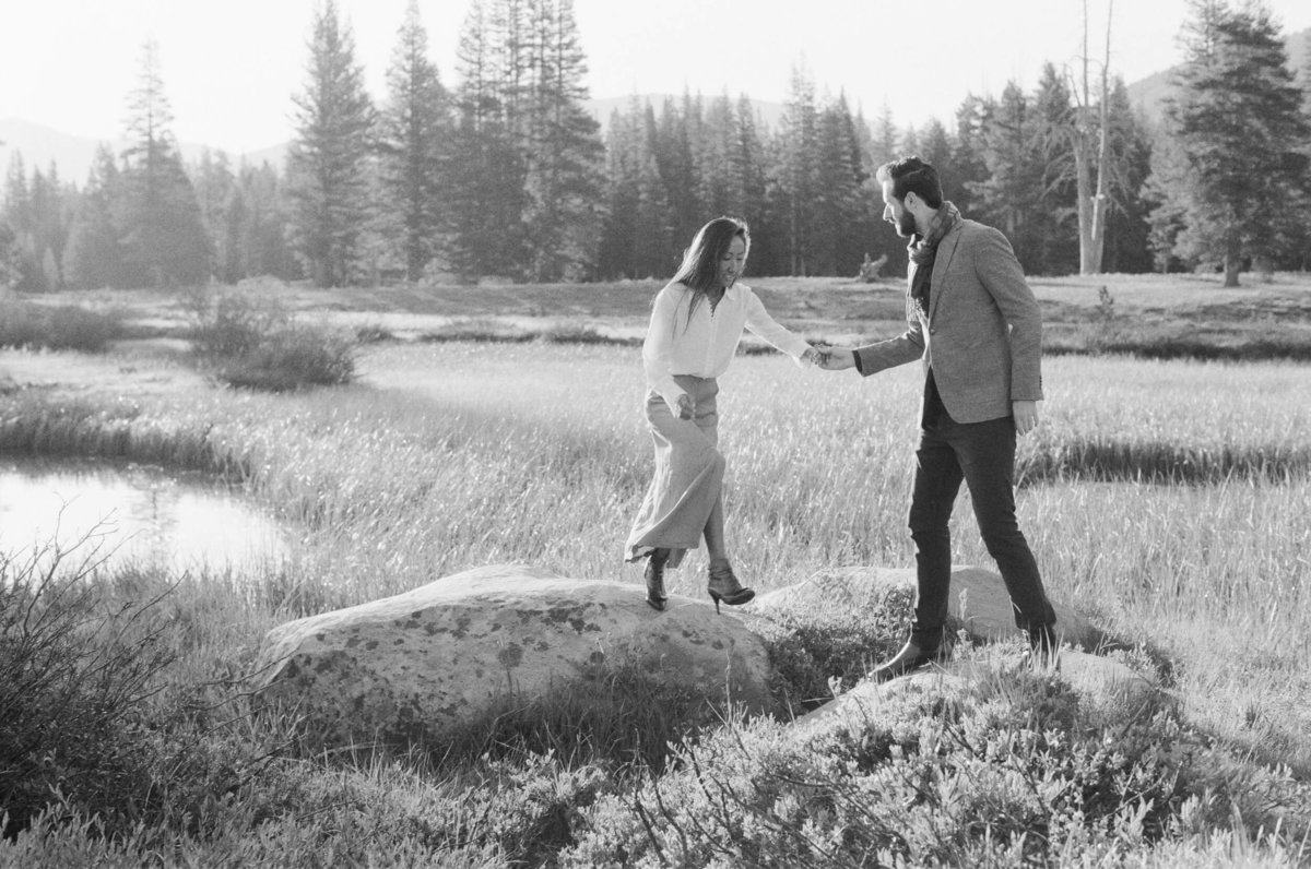33-KTMerry-destination-engagement-film-photography-Yosemite