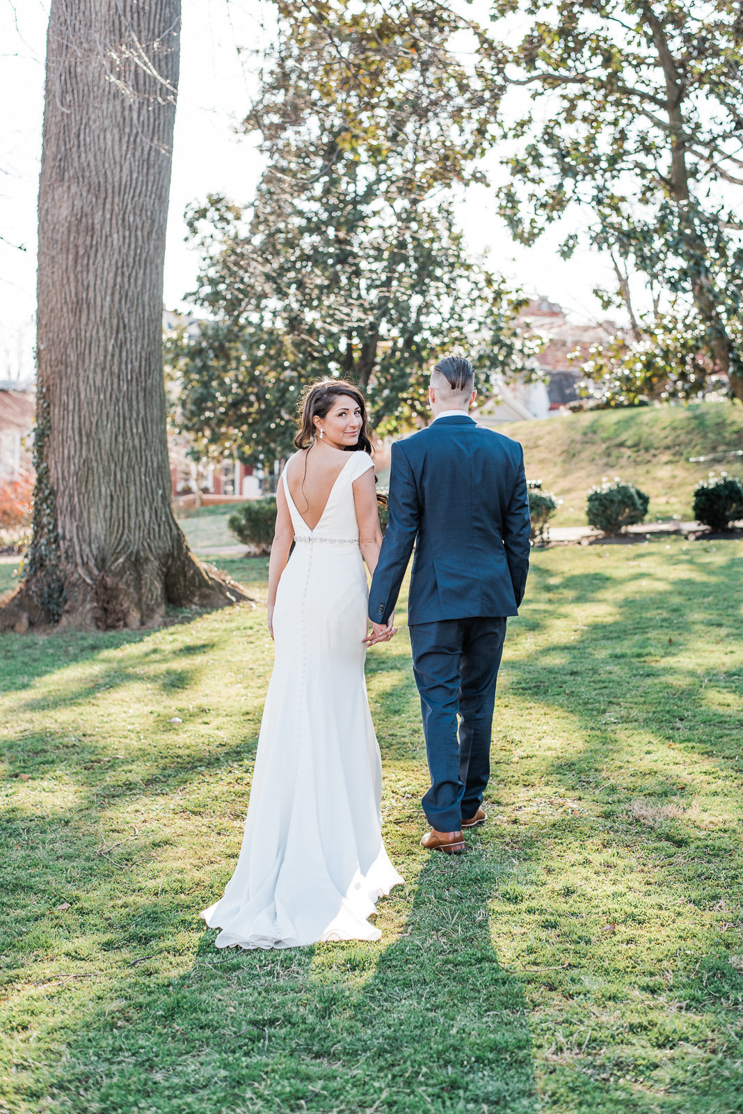 Boho Fine Art Wedding in Annapolis, Maryland