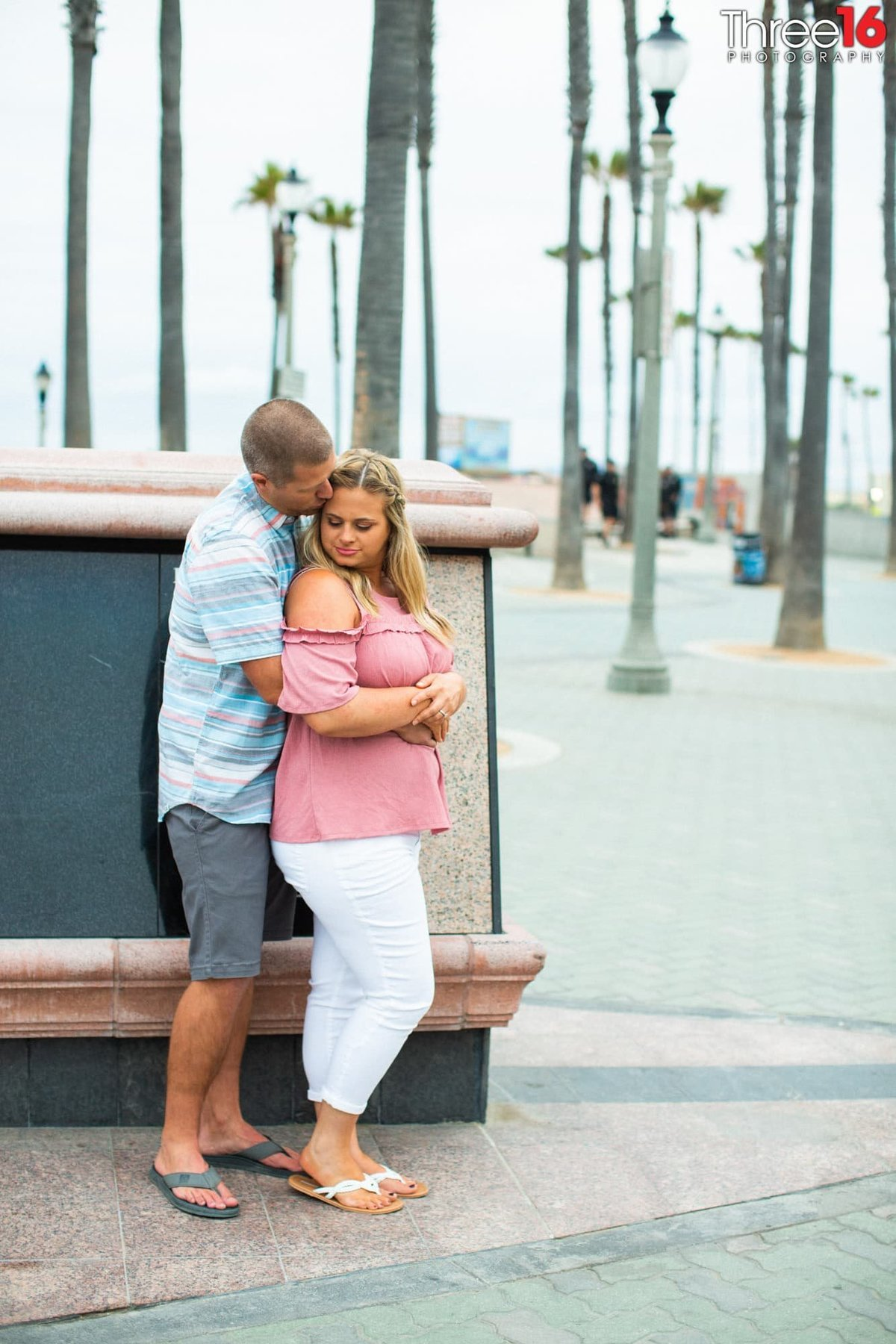 Huntington Beach Pier Engagement Orange County Professional Photography