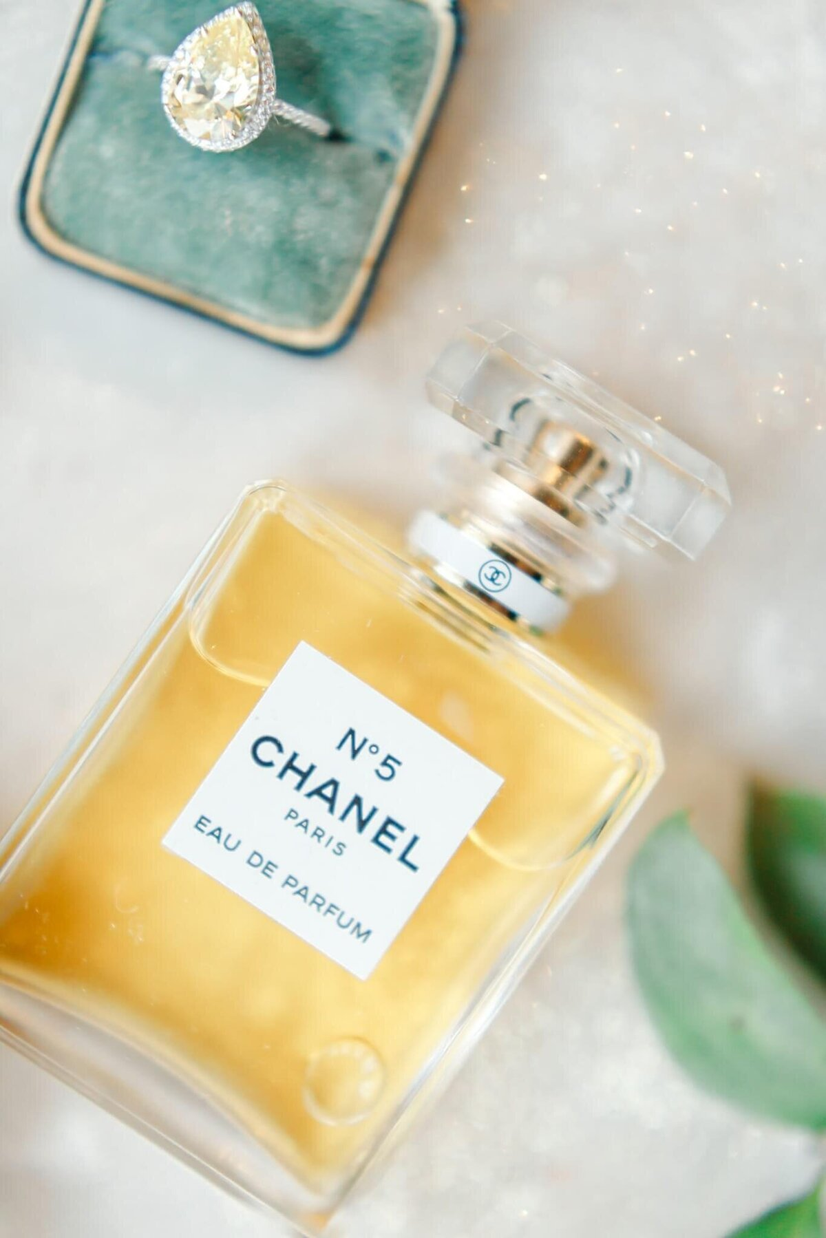 Chanel perfume wedding
