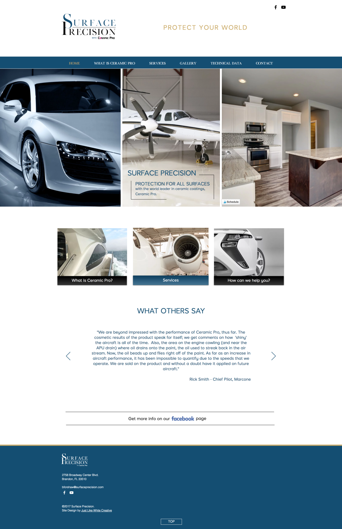 Masculine website by Tribble Design Co.