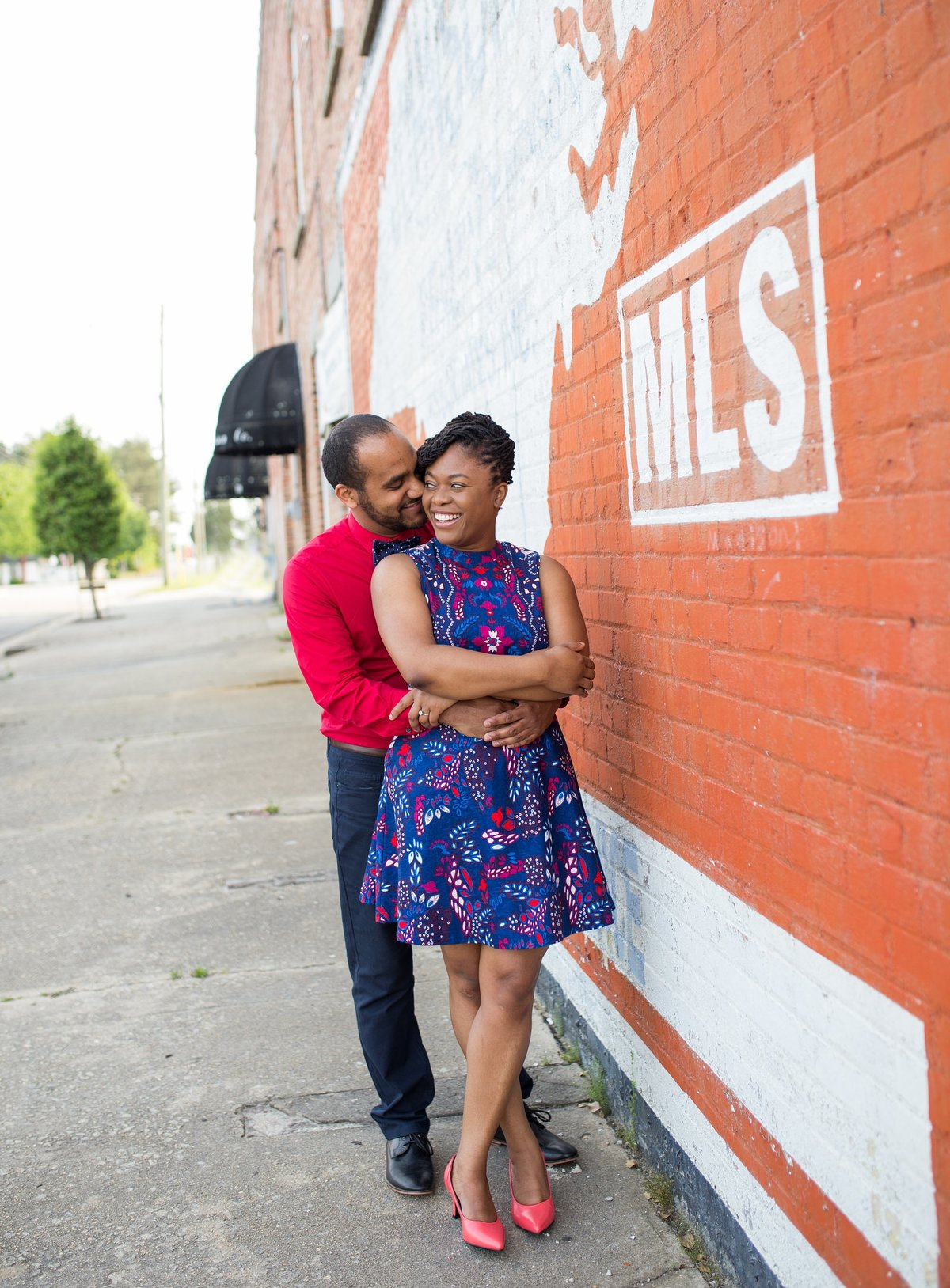 Benson engagement photos
