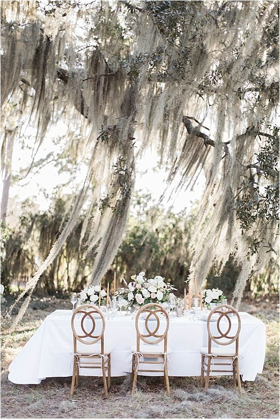 Spanish Moss Wedding Details Lowcountry Wedding