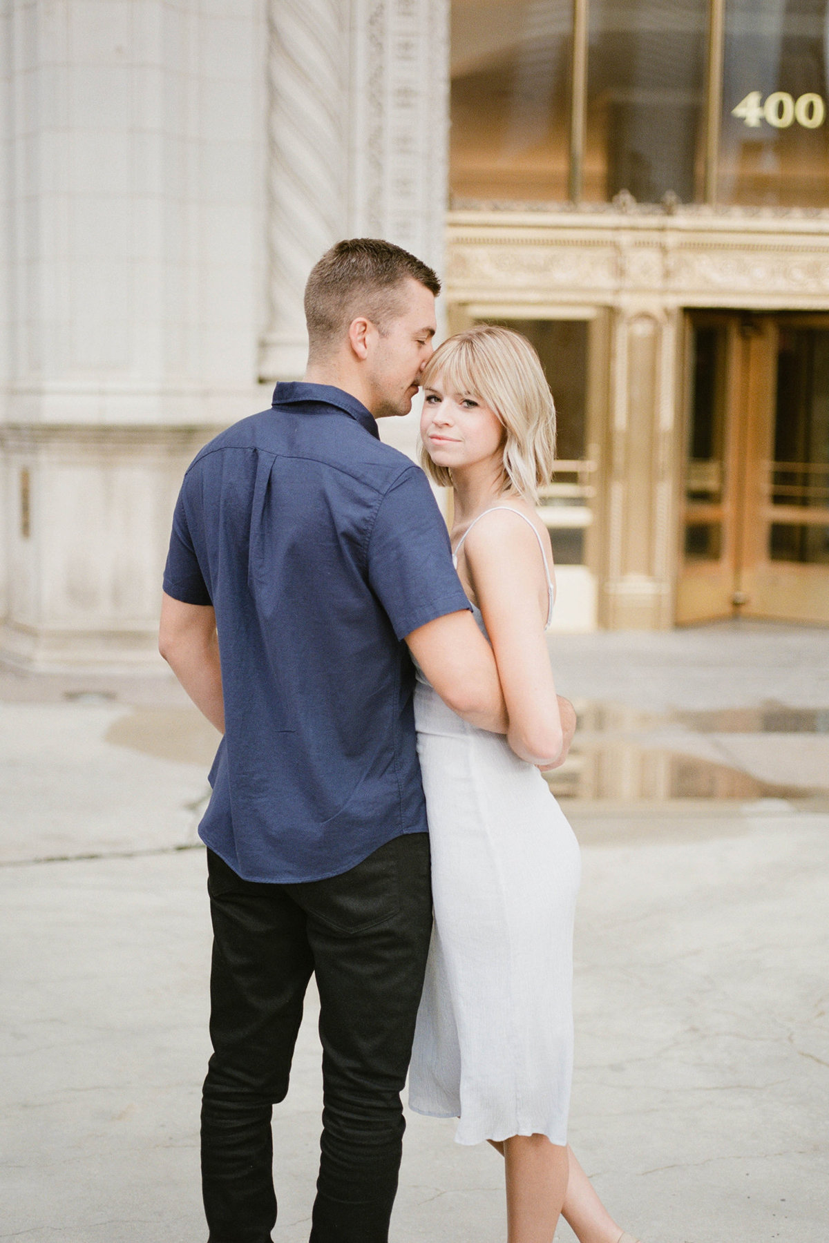 Chicago Wedding Photographer - Fine Art Film Photographer - Sarah Sunstrom - Sam + Morgan - Engagement Session - 26