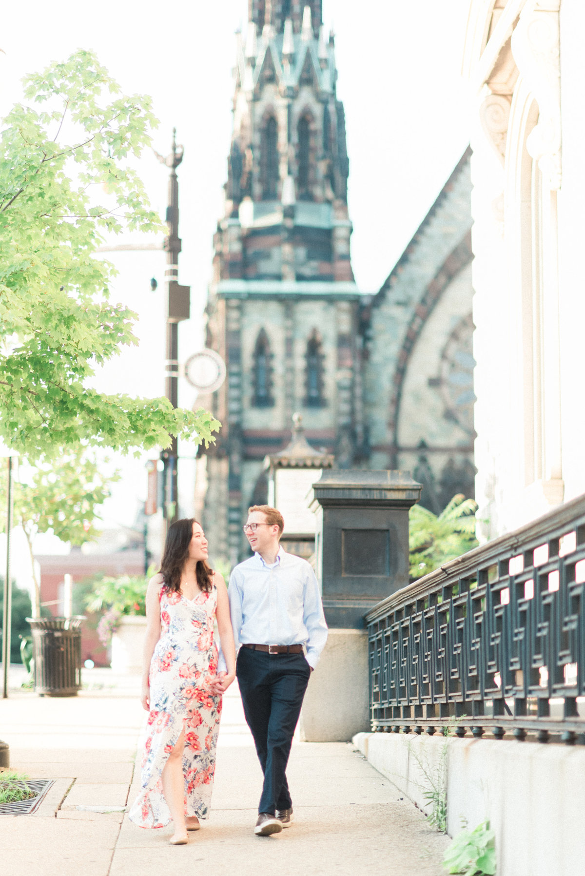 Mt Vernon Engagement Portraits