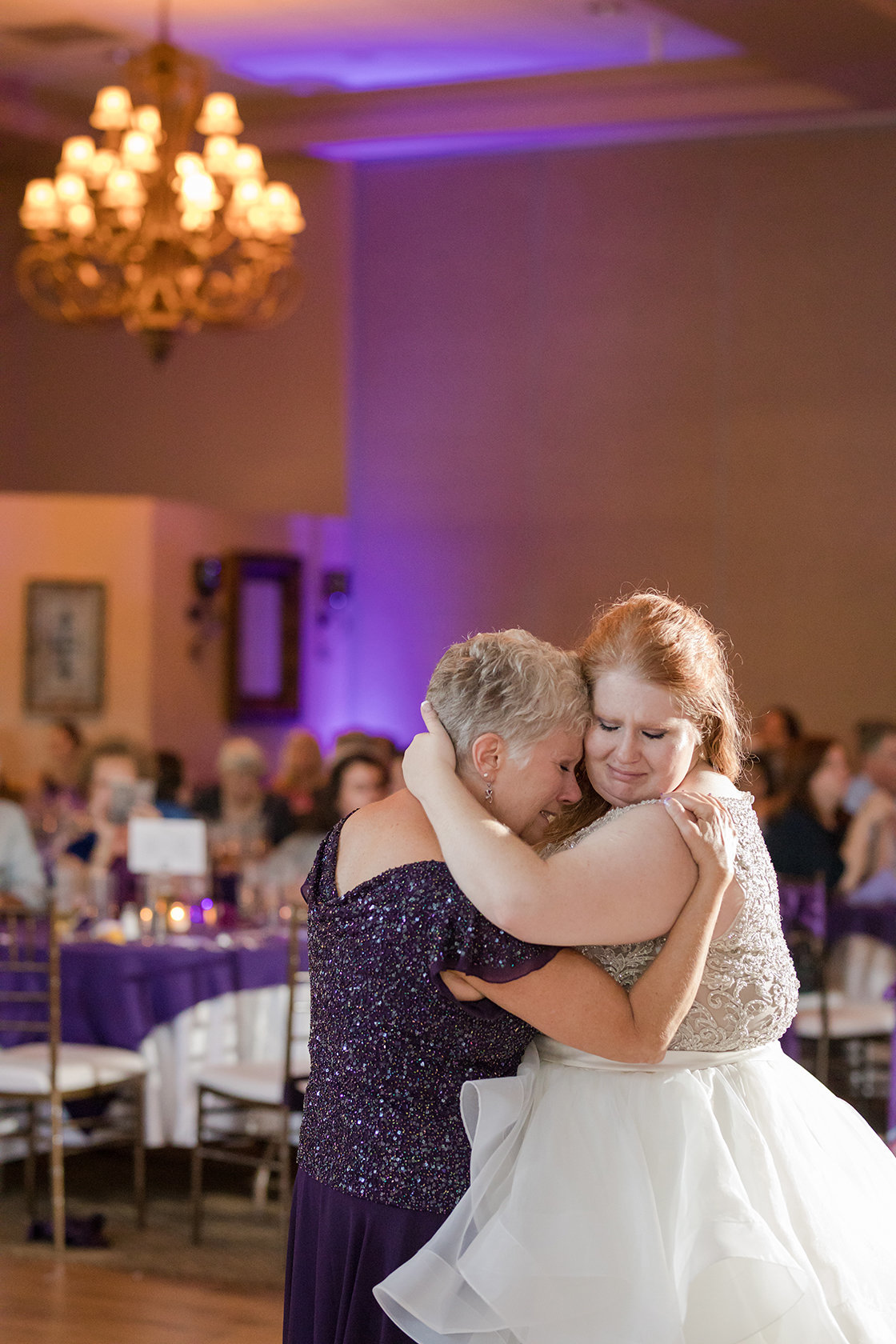 mother and daughter wedding dance photo