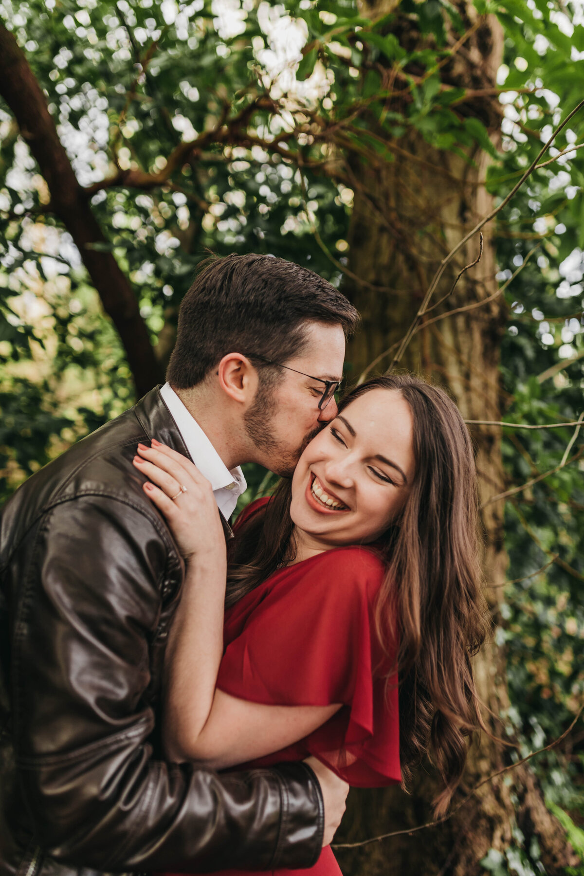 Engagement Session at the Seattle Arboretum Nature and Adventure - Clara Jay Photo_-26