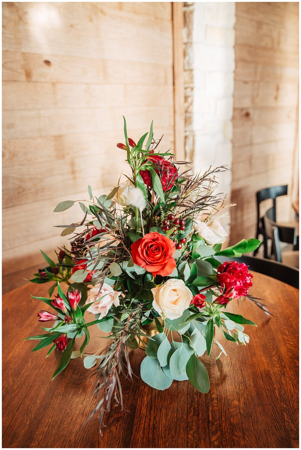 Rustic Burgundy and Blush Indoor Outdoor Wedding at Emery's Buffalo Creek - Houston Wedding Venue_0681