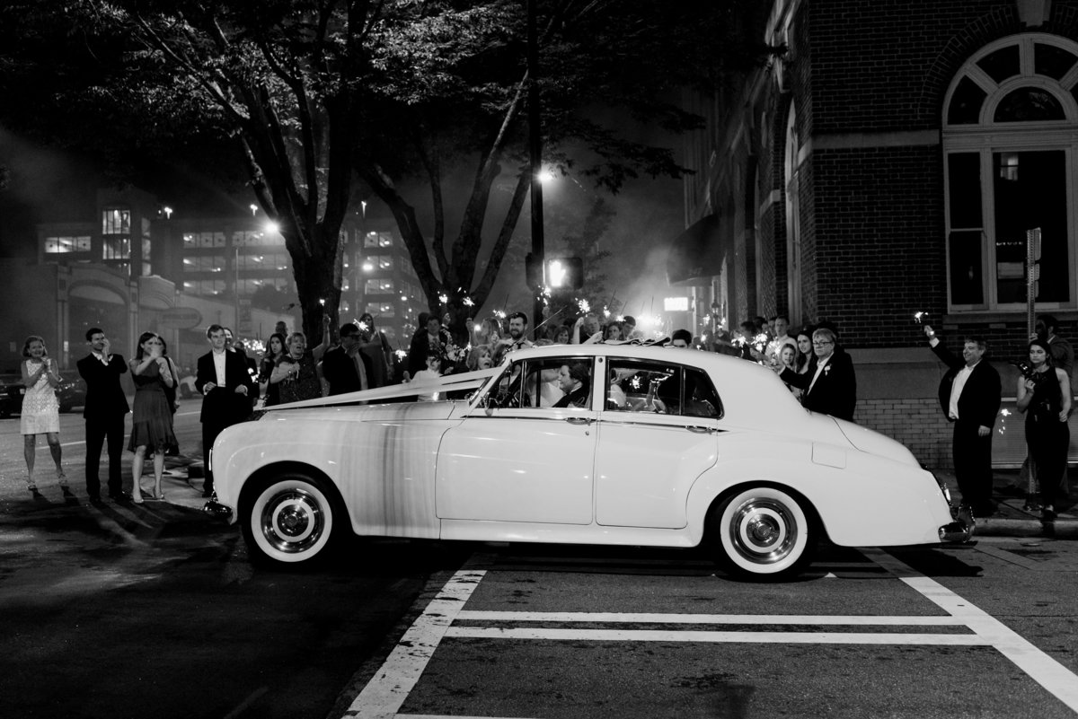 Getaway car Athens GA Wedding