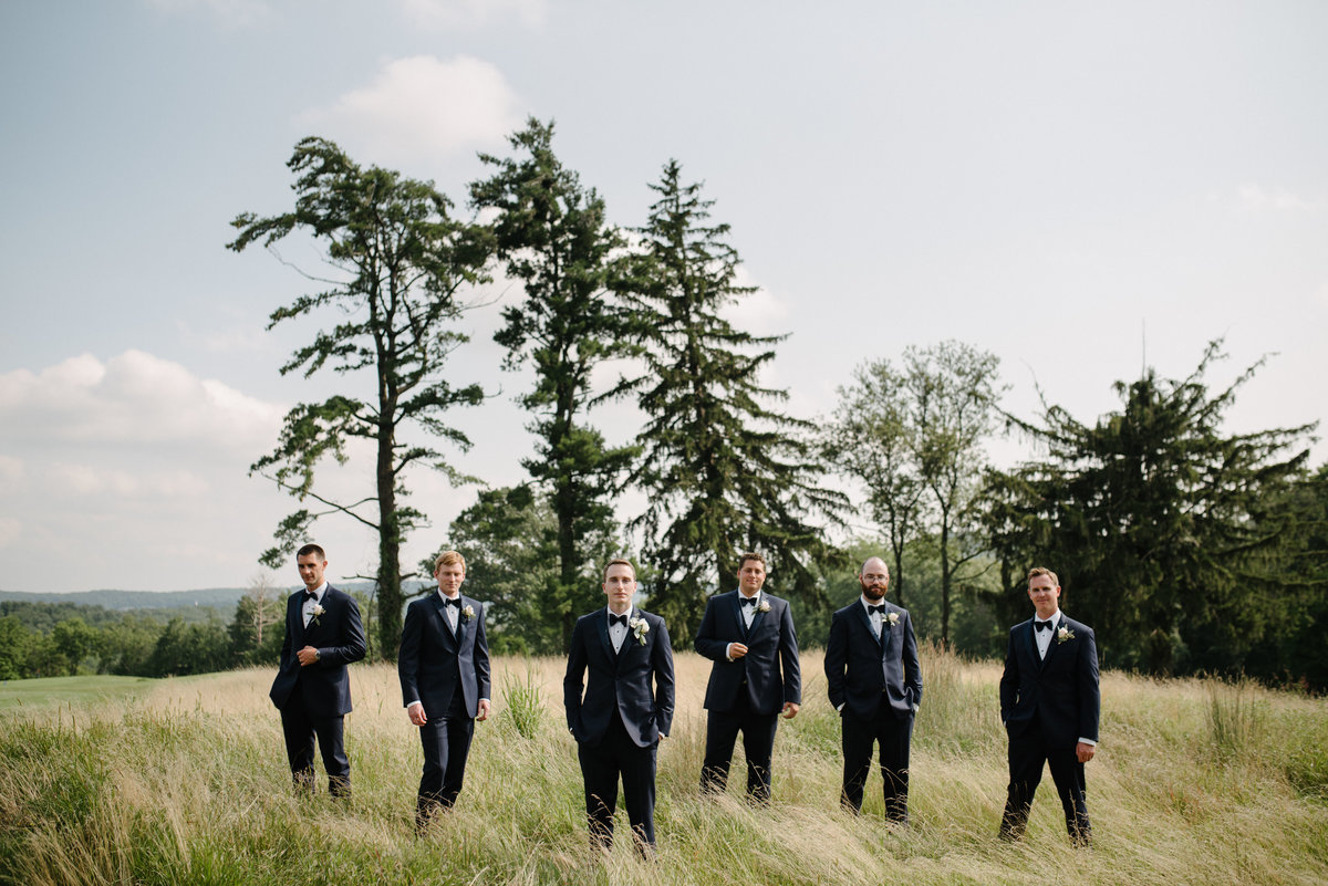 gromsmen upstate ny patriot hills wedding