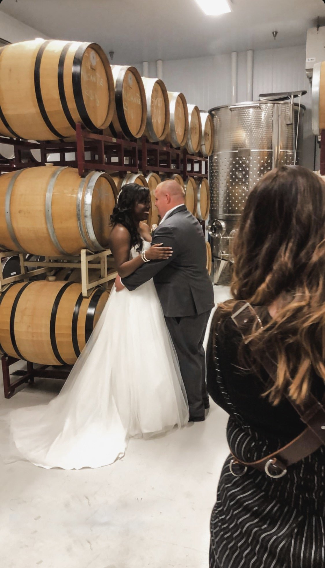 Megan Helm Photography behind the scenes at kings river winery
