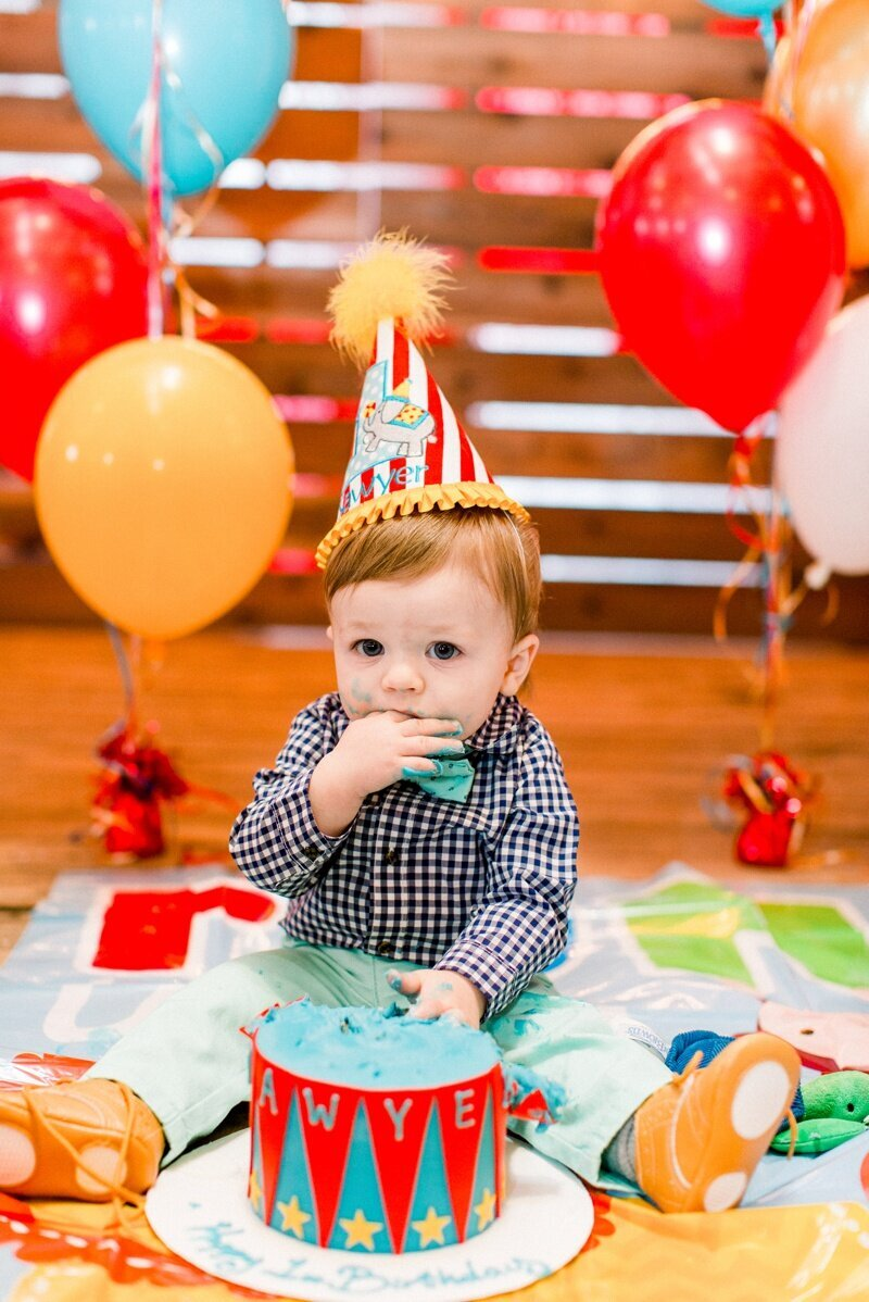 Circus Themed 1st Birthday Indianapolis Party Planner_0141
