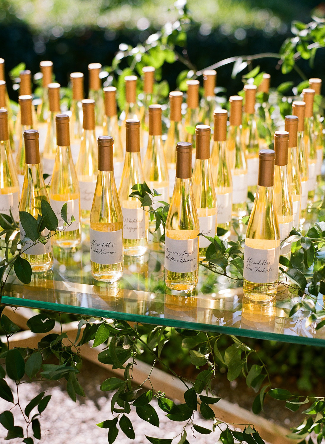 Favor for wedding by Jenny Schneider Events at the Beaulieu Garden in Napa Valley, California. Photo by Lori Paladino Photography.