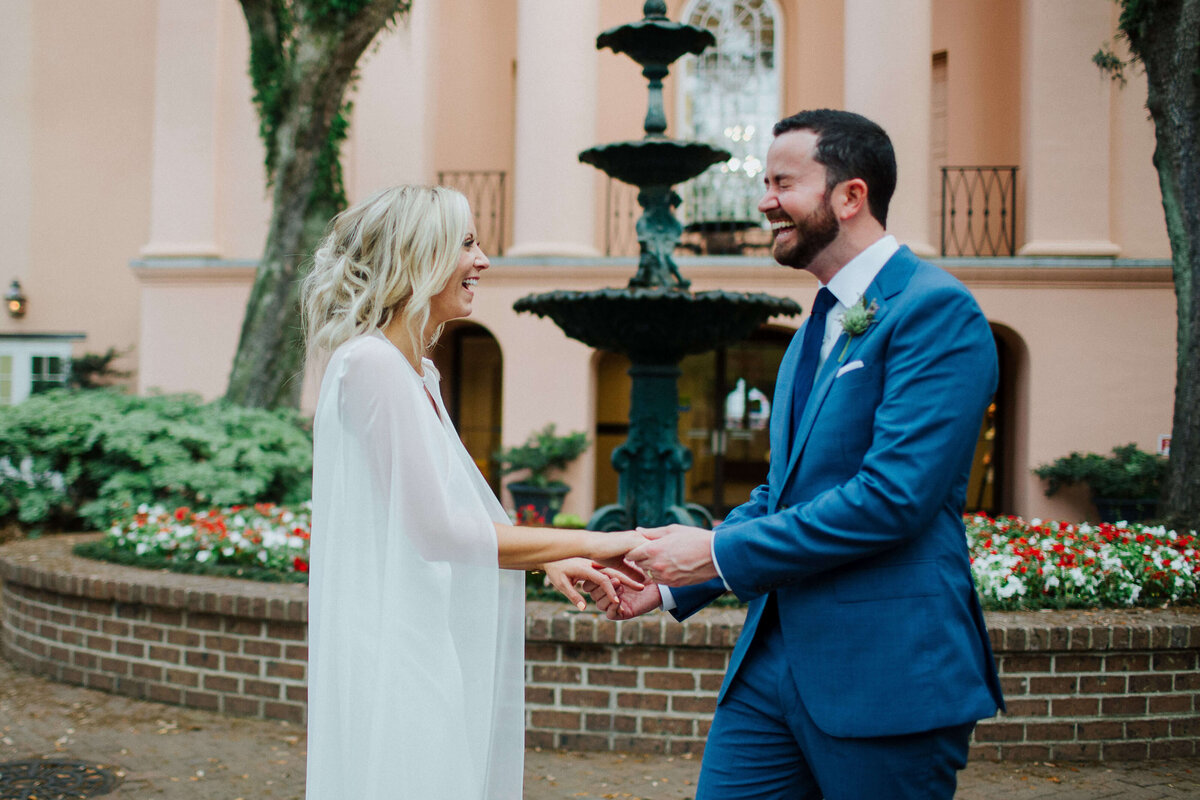 Spring Downtown Charleston Wedding by Izzy + Co. Photography