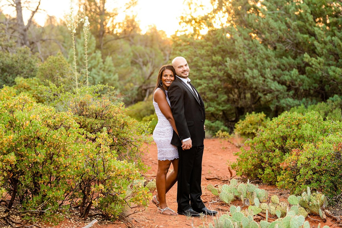 Monica + Austin - Sedona Engagement Session - Cathedral Rock - Lunabear Studios_0200