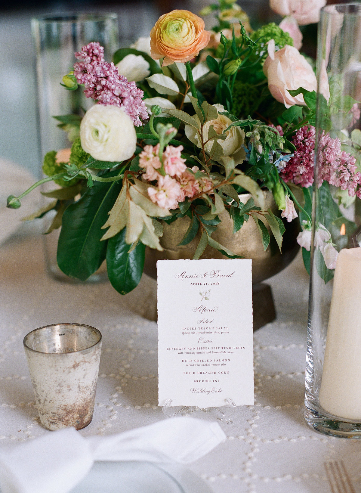 Southern Spring Wedding Design