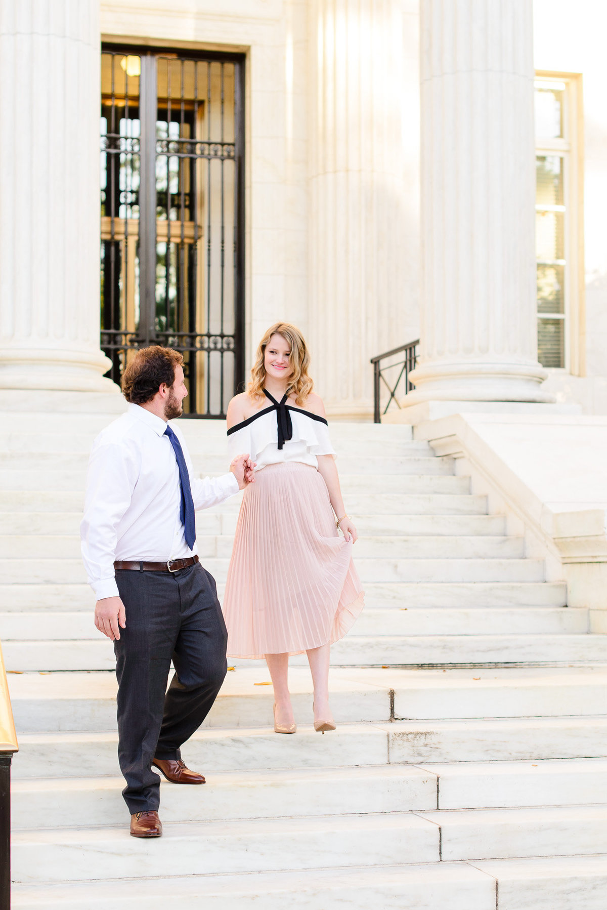 DC Sunrise Engagement Session-DAR Constitution Hall (7)