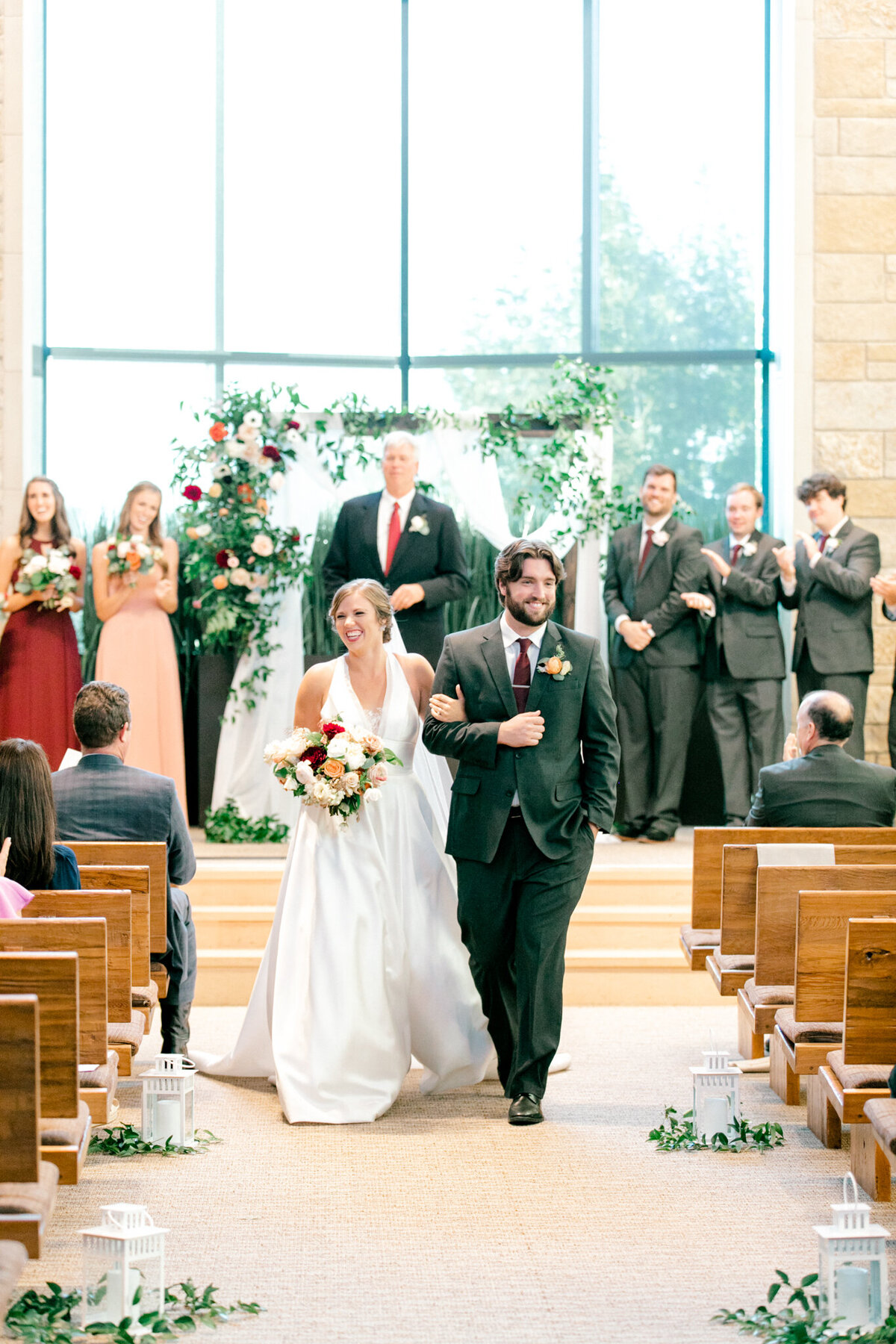 Kaylee & Michael's Wedding at Watermark Community Church | Dallas Wedding Photographer | Sami Kathryn Photography-116