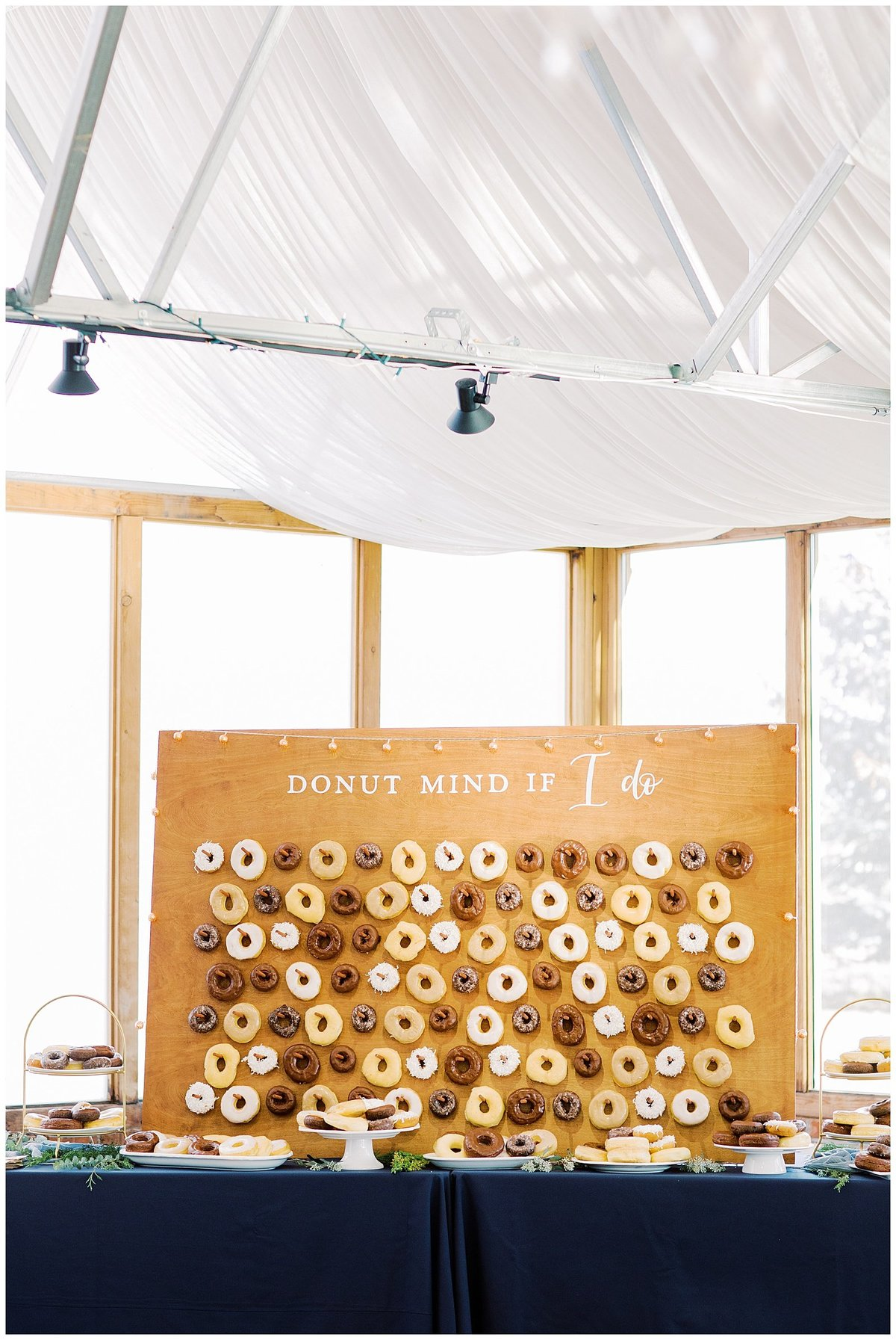 Doughnut Wall Wedding