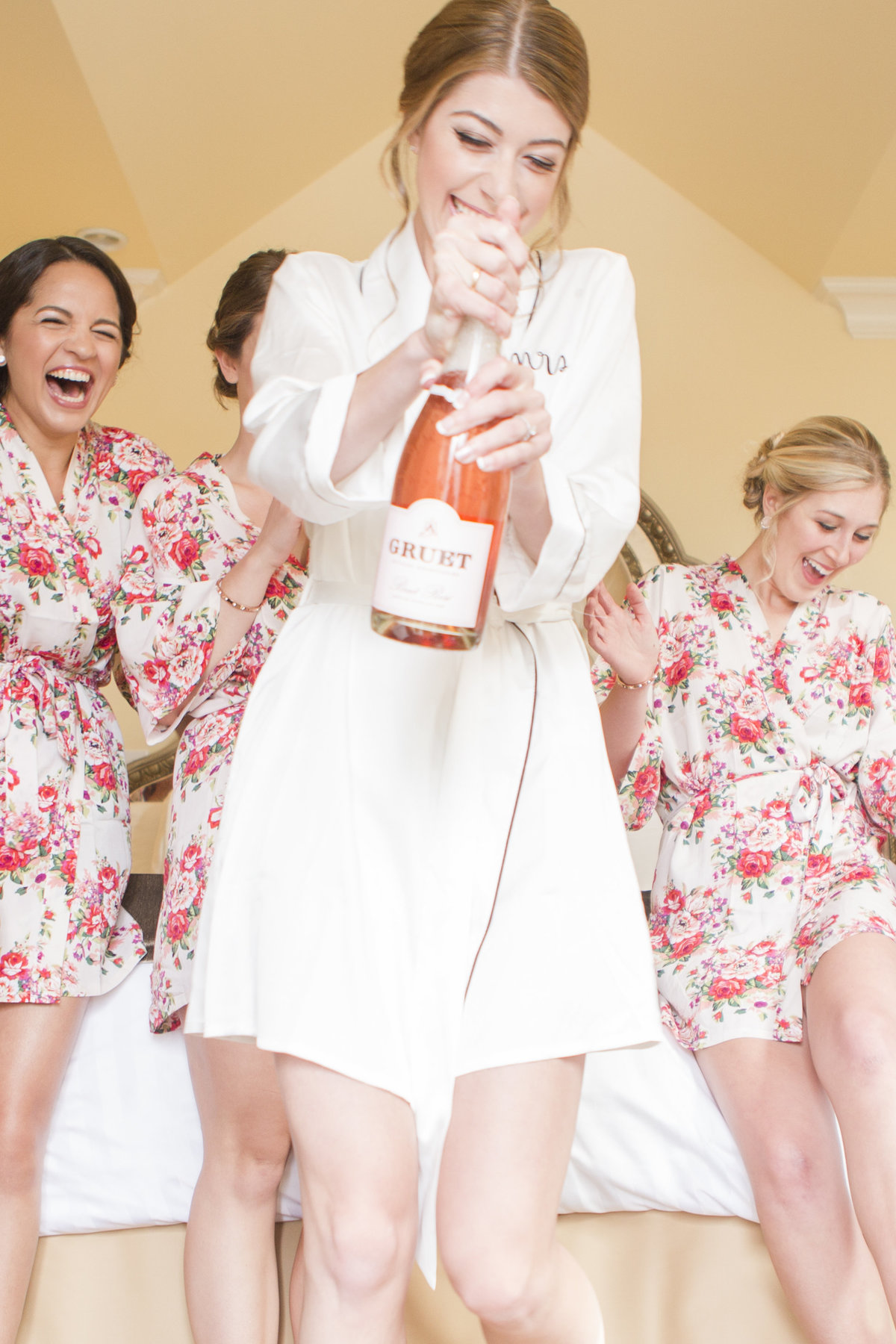 seattle wedding photographer Majestic Inn Bridesmaids Anacortes WA