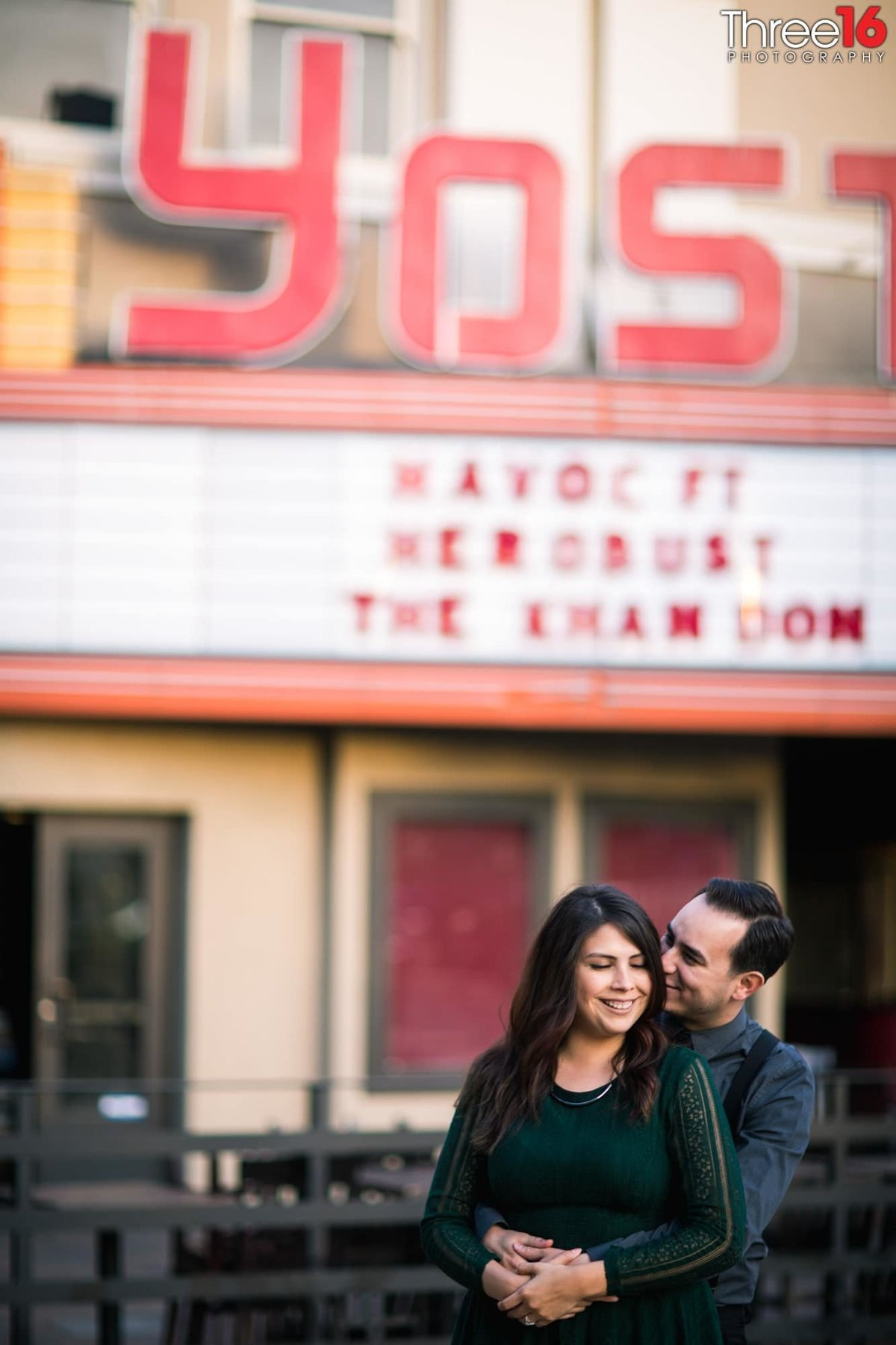 Yost Theater Engagement Photos Santa Ana Orange County Weddings