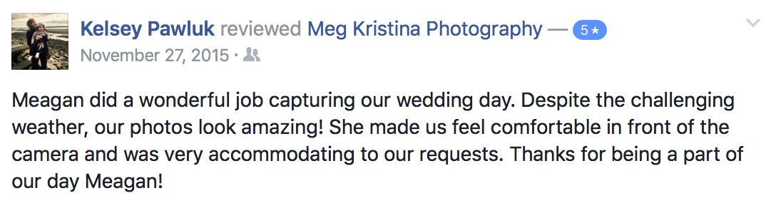 meg kristina photography review