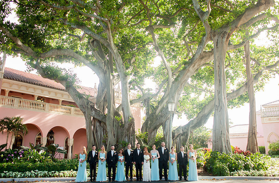 boca resort wedding party