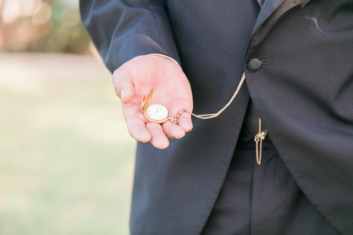 Classic Pocket Watch Groom