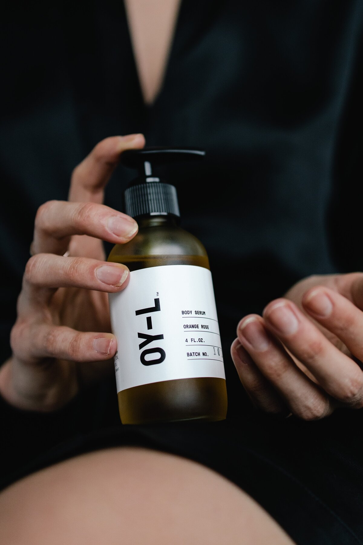 Review of OY-L Clean Body Oil by Alex Perry Photographer and Videographer for Conscious Beauty Brands