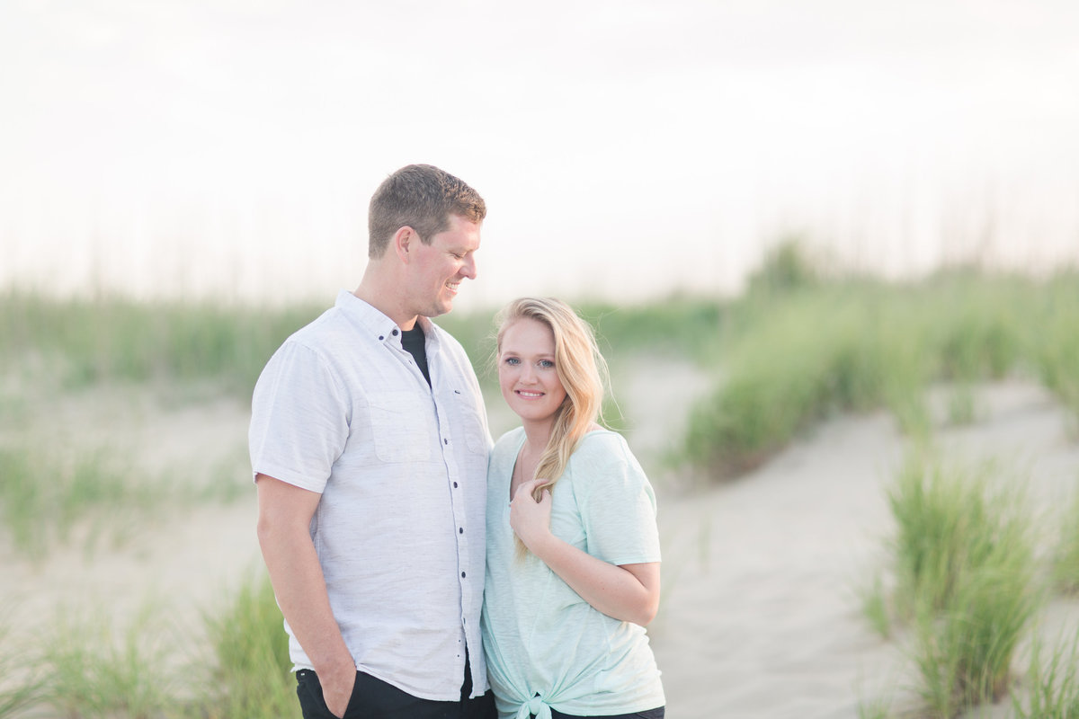 engagement session a virginia beach's beautiful north end beaches