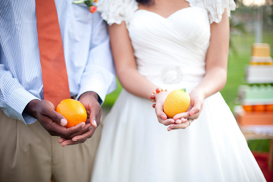 citrus wedding