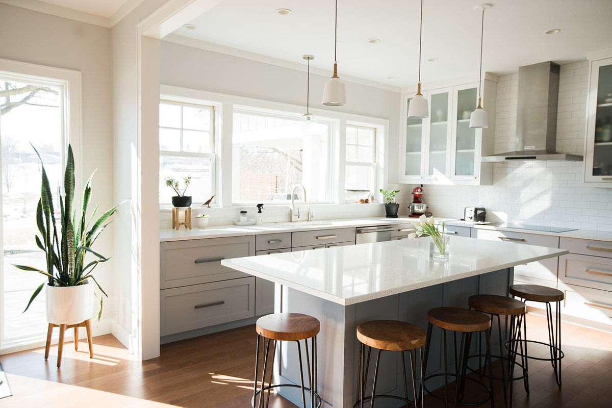 Modern Farmhouse Light & Airy Kitchen