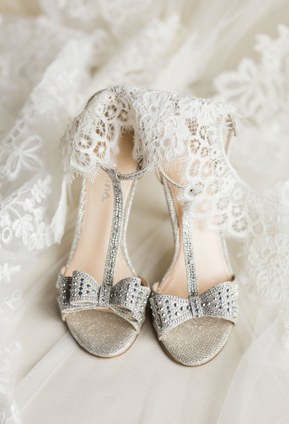 Photo of pretty wedding shoes