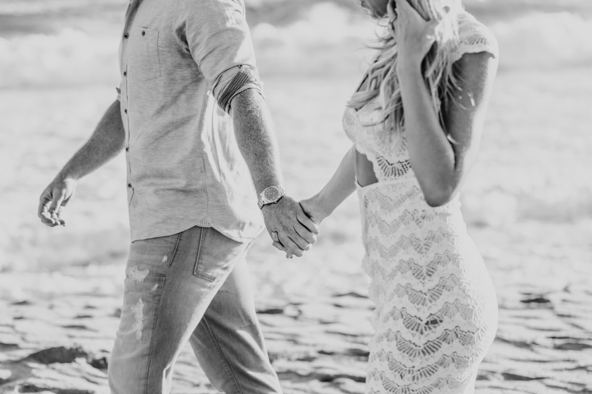 Kourtney Justin Turner Malibu Engagement Session_Valorie Darling Photography-4913