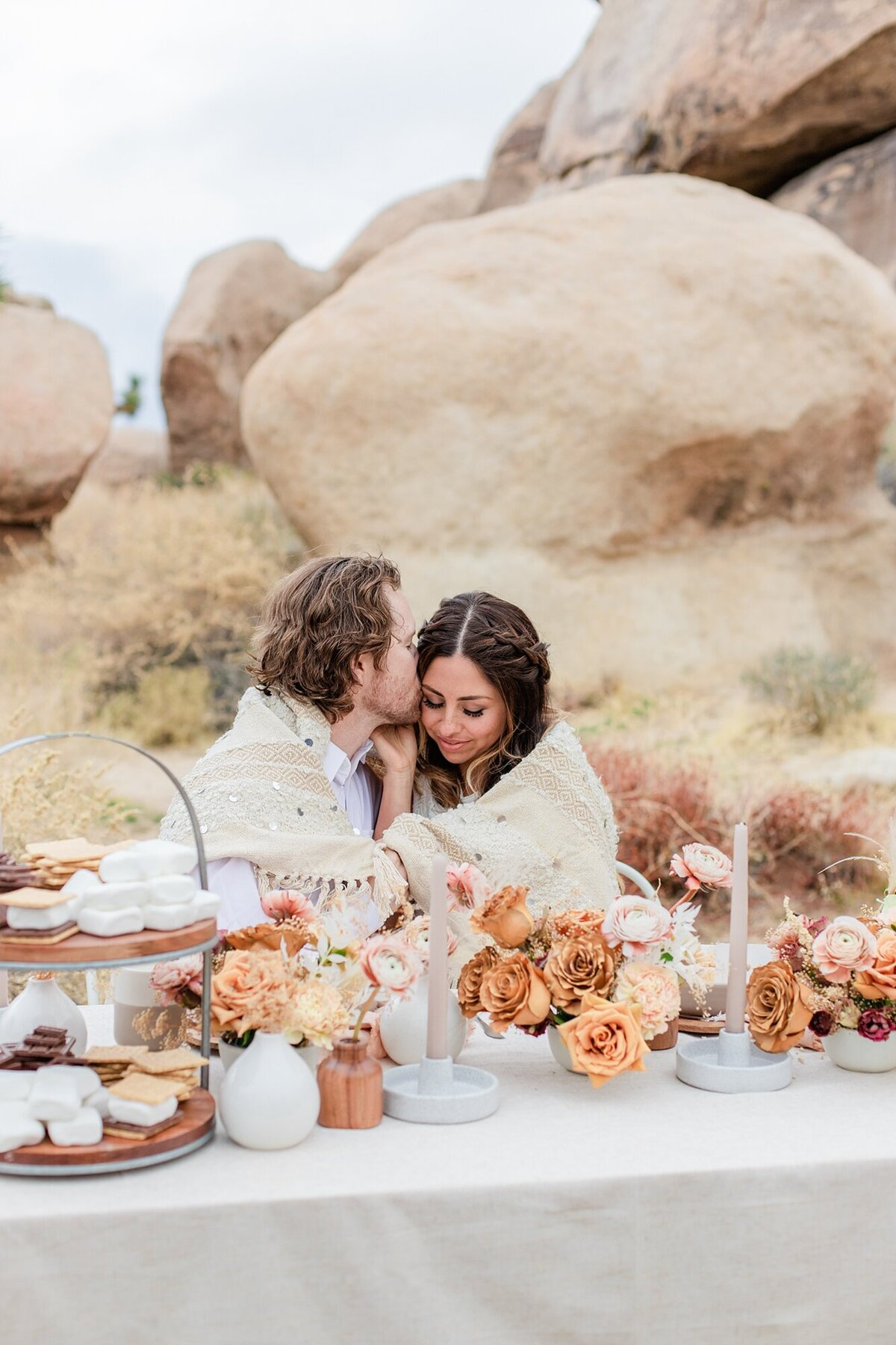 Joshua Tree Elopement Photographer | Desert Elopement | Elopement Photographer | Glamping Elopement | Campfire Elopement | Glamping Engagement | Campfire Engagement | Styled Shoot | So Cal Shootouts_0054