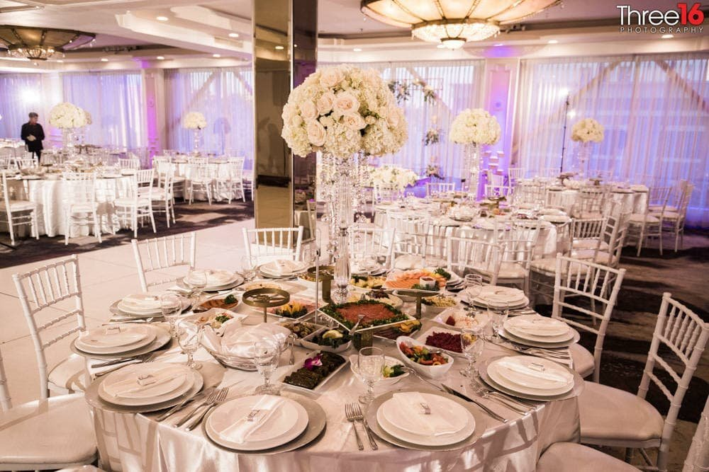 Brandview Ballroom Wedding Reception in LA