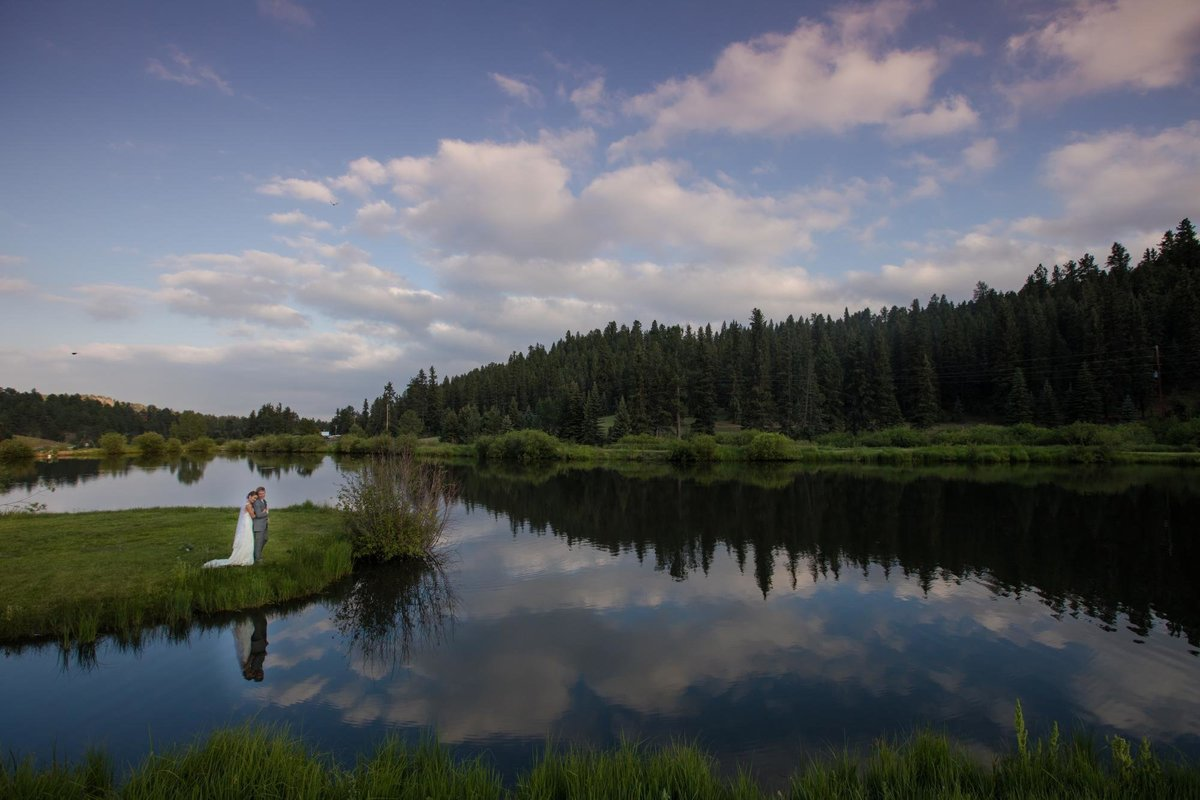 Summer Wedding Mountain View Ranch